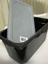 RUBBERMAID commercial 218P Hot Food Pan 1/3 Size 5.1 liter + 122P-29 Lid deksel