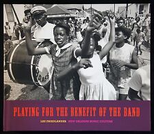 Lee Friedlander Playing for the Benefit of the Band Photo Book New & Signed