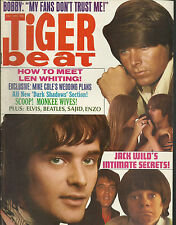 TIGER BEAT DECEMBER 1969 ELVIS BEATLES MONKEES MUSIC TEEN  MAGAZINE FANZINE BOOK