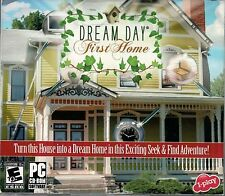 DREAM DAY FIRST HOME Hidden Object PC Game NEW