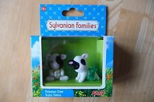 BNIB SYLVANIAN FAMILIES BUTTERCUP FRIESIAN COW BABY TWINS, DOLLY & FENNEL, RARE.