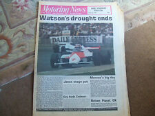 Motoring News 23 July 1981 British GP Border Counties Rally Silverstone F3
