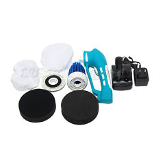 Electric Hand Held Cordless Car Polisher Buffer Sander with Polishing Kit UK