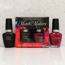 CUCCIO Veneer Match Makers - HEART & SEOUL 6016 Gel & Nail Lacquer Duo Kit