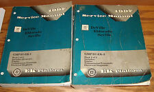 1997 Cadillac DeVille Eldorado Seville Shop Service Manual Vol 1 & 2 Set 97