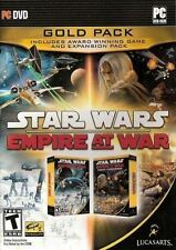 Star Wars Empire At War GOLD+Forces of Corruption Expansion Win 7 PC NEW Sealed