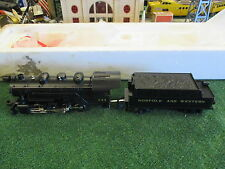 MTH TRAINS 30-1111-1 NORFOLK & WESTERN 0-8-0 Steam Switcher - With Proto 1996