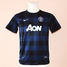 2013 MANCHESTER UNITED, AWAY FOOTBALL JERSEY BY NIKE, YOUTH, BOYS XL