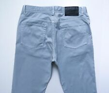 $600 BRIONI Slim Fit Sky Blue Color Brushed Cotton Jeans Pants 38 US 54 Euro
