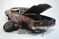 1970 Chevy Chevelle SS Pro Built Weathered Barn Find Junkyard Custom 1/25 AMT