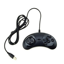 6 Buttons USB Classic Gamepad Game Controller Joypad for the SEGA Genesis MD2 M1