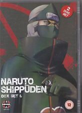 NARUTO SHIPPUDEN BOX SET 6 DVD MANGA EPISODES 66 - 77