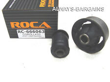ROCA Front Lower Control Arms Bushing Toyota Corolla 03 - 07 Left Right 666063X2