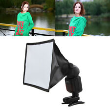 Universal Studio Softbox Flash Diffuser Speedlite Speedlight F Canon Nikon Sony