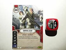 Star Wars: Destiny Awakenings - Rare Survival Gear #034 + die