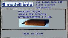 CORTE DI CAVANNO UTESTAM01/008 Bottone rivetto 0,8 mm.