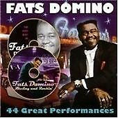 Fats Domino - 44 Great Performances [Prism] (2003) CD