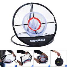 New Portable 20'' Golf Training Chipping Net Hitting Aid Practice In/Outdoor Bag
