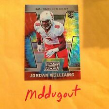 JORDAN WILLIAMS #124 BALL ST Saints RC 2016 PRIZM DRAFT PICKS TYE DYE 40/49 made
