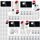 Wireless GSM Alarm System Home Alarm Security IOS Android APP Controlled sensor