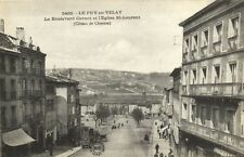 CPA Le Puy -en Velay -  Le Boulevard Carnot et l'Eglise St.Laurent (170157)