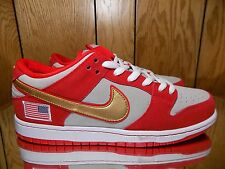 NIKE DUNK LOW PRO SB NASTY BOYS US 10.5 CHALLENGE RED CINCINNATI REDS RARE!