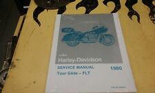 STOCK HARLEY NOS 1980 SHOVELHEAD FLT SERVICE MANUAL  NEVER OPENED P/N 99483-80