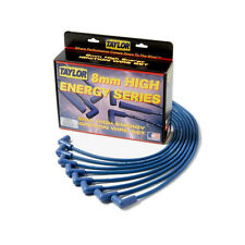 Taylor Cable 64634 Spark Plug Wire Set; High Energy Blue 8mm Resistor Core