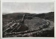 Cartolina Teatro Greco di Segesta VIAGGIATA Postcard