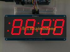 Red 1.2' 4 Digit 7 Seven Segment LED Display IIC for Arduino uno r3