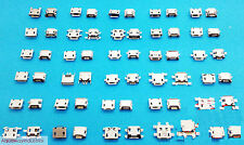 30 Kinds Lot 5P 5Pin Micro USB Charger Jack Socket Connector for Phone tablet