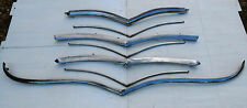 1946 Plymouth Stainless Steel Grill Bars Full Set Hotrod