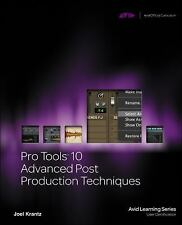 Pro Tools 10 Advanced Post Production Techniques (Avid Learning) Krantz, Joel Bo