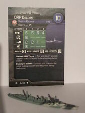 ORP DRAGON, AXIS & ALLIES WAR AT SEA, SURFACE ACTION, 4/40