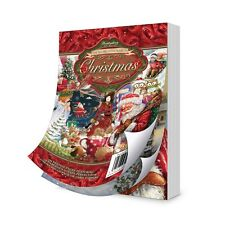 Hunkydory LA SECONDE LITTLE BOOK OF NOEL 144 A6 Pages Motifs Serviettage