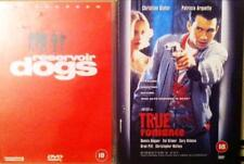 QUENTIN TARANTINO Reservoir Dogs & True Romance Cult Violent Thrillers DVD *EXC*