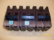 (2) FEDERAL PACIFIC CIRCUIT BREAKER STAB-LOK TYPE NA-NI 2 POLE 240 VOLTS 30 AMP