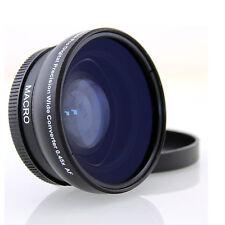 0.45x Weitwinkel 58mm mit Macro für Canon EOS 600D 550D