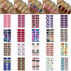 Hot Beauty Self Adhesive Polish Foils Nail Art Decals Stickers Manicure Wraps