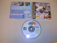 SNO-CROSS CHAMPIONSHIP RACING (Playstation 1 PS1 PSX) Complete BLACK LABEL