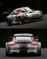 CODEX  Porsche 997 GT3 #76 Le Mans 2007 1:18 Autoart Finish line + Night lights