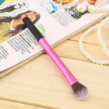 Pro Powder Blush Brush Makeup Foundation Tool Cosmetic Stipple Blending Fiber UL
