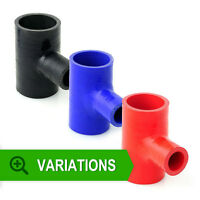 Silicone Hose TPiece TPieces Tee Silicon Joiner Pipe Rubber Coolant Radiator