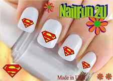 "RTG Set#597 CHARACTER ""Superman 3 S"" WaterSlide Decals Nail Art Transfers Salon"