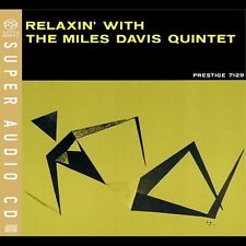 Relaxin' with The Miles Davis Quintet SACD John Coltrane Paul Chambers OOP