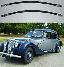 (x2) RILEY RM A RMA (1-1/2 Litre)  FRONT BRAKE HOSES Pipes  (** From 1948- 52**)