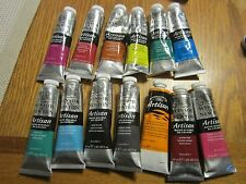 (13) WINSOR & NEWTON ARTISAN WATER MIXABLE OIL COLOUR LOT OF 13 DIFFERENT TUBES