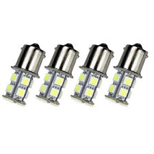 4 X Warm White 1156 13-SMD RV Camper Trailer LED Interior Light Bulbs 12V Sales