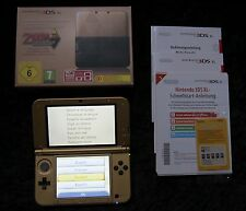 Nintendo 3ds XL Zelda a Link Between Worlds Limited Edition consola, embalaje original