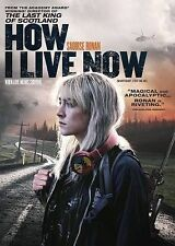 How I Live Now (DVD, 2014, Canadian) Brand New Saoirse Ronan